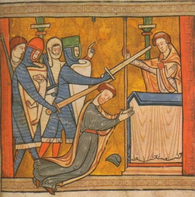 biography of st thomas becket Main article primary sources (source 1) illustration from the book, life of st thomasthe picture shows becket denouncing the clarendon constitution (c1210) (2) william fitzstephen, the life of thomas becket (c 1190.
